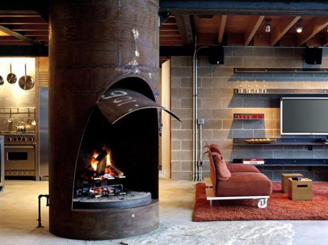 4_industrial_home style interior_design_styl industrialny nowoczesne mieszkanie projektowanie wnetrz