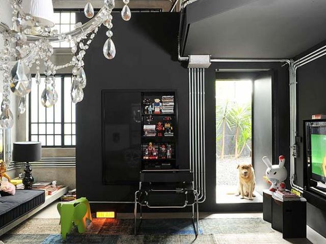 6_industrial_home style interior_design_styl industrialny nowoczesne mieszkanie projektowanie wnetrz
