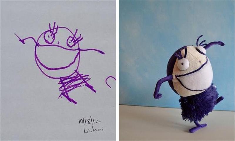 7_Childs_Own_Studio_toys_sewn_after_kids_drawings_zabawki_dla_dzieci_dzieciece_rysunki_diy_dla_dzieci_diy_for_chldren