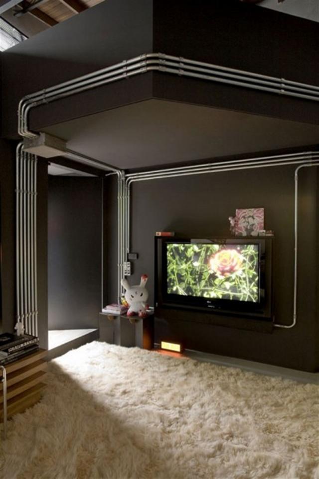 7_industrial_home style interior_design_styl industrialny nowoczesne mieszkanie projektowanie wnetrz
