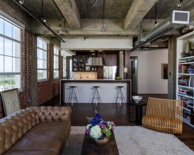 9_industrial_home style interior_design_styl industrialny nowoczesne mieszkanie projektowanie wnetrz