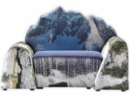 1 Gaetano Pesce Montanara chair 2009 Meritalia furniture interior design wloskie meble luksusowe