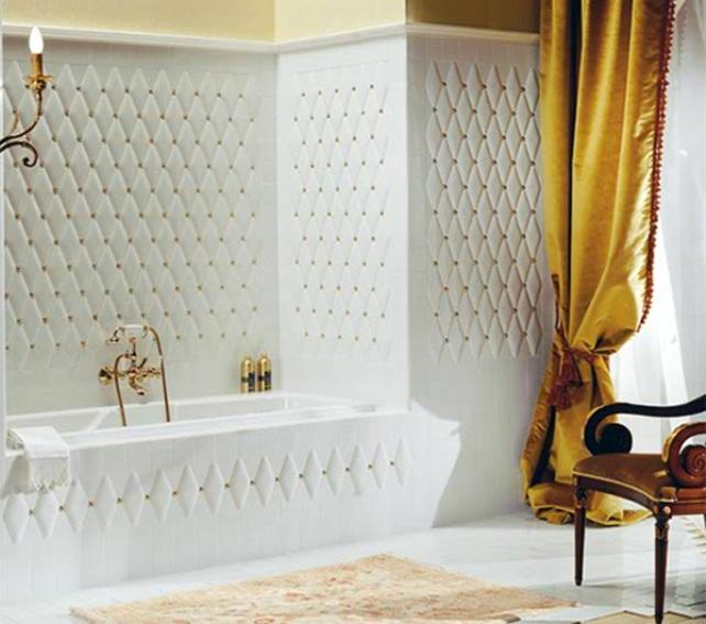 1 petracers capitonne tufted tiles luxurious home decor italian interior design wloskie plytki nietypowe kafelki luksusowe