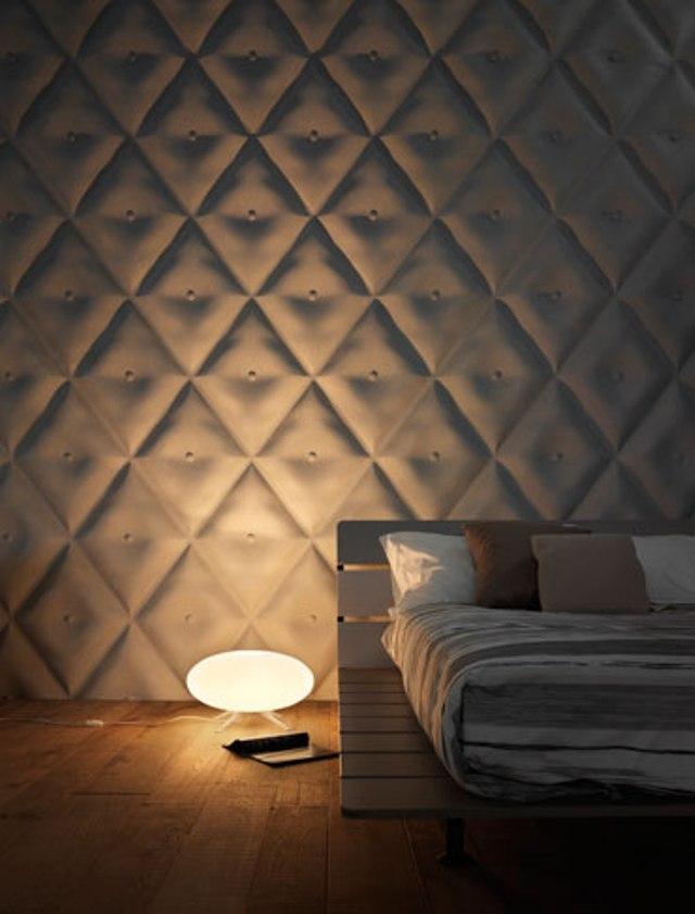 10 3dsurface capitonne tufted tiles wall panels luxurious home decor italian interior design wloskie plytki nietypowe kafelki luksusowe panele scienne
