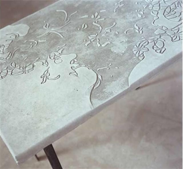 10 concrete tiles industrial interior design beton architektoniczny minimalizm betonowy stol