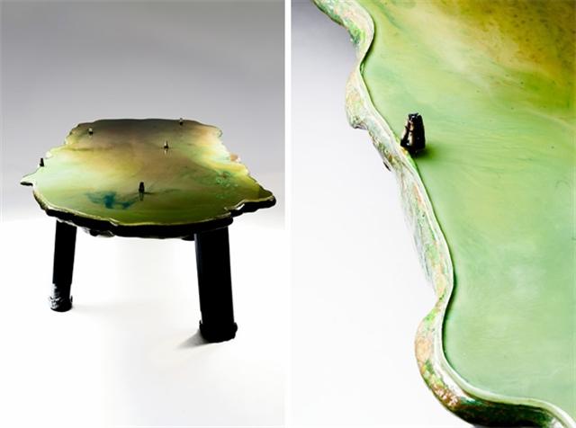 11 gaetano pesce lagoon table david gill galleries london italian furniture interior design home decor wloskie meble luksusowe projektowanie wnetrz