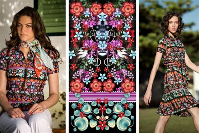 14_Catalina_Estrada ethnic wallpaper interior design etniczne wnetrza styl boho