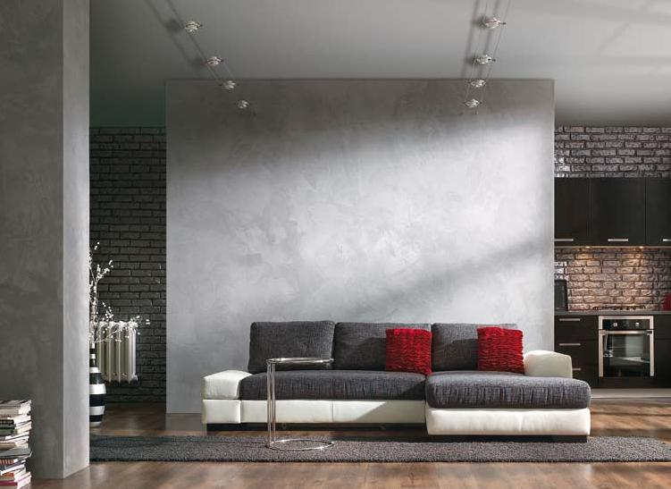 16 concrete tiles industrial interior design beton architektoniczny minimalizm betonowe plytki tapeta imitujaca beton