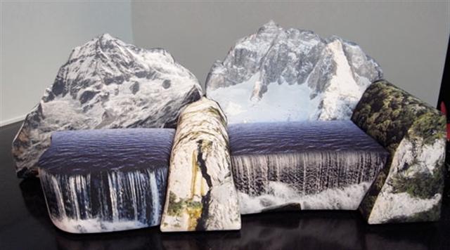 2 Gaetano Pesce Montanara chair 2009 Meritalia furniture interior design wloskie meble luksusowe