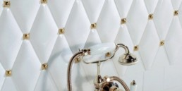 2 petracers capitonne tufted tiles luxurious home decor italian interior design wloskie plytki nietypowe kafelki luksusowe