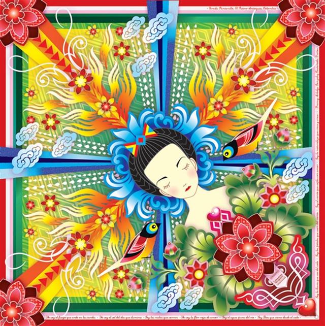 22_Catalina_Estrada ethnic wallpaper interior design etniczne wnetrza styl boho