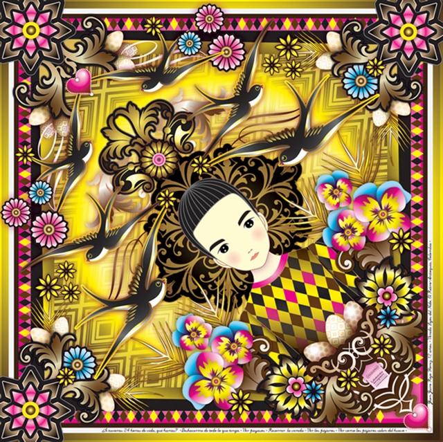 23_Catalina_Estrada ethnic wallpaper interior design etniczne wnetrza styl boho