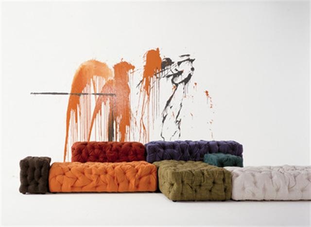3 La Michetta 2005 Gaetano Pesce furniture interior design wloskie meble luksusowe