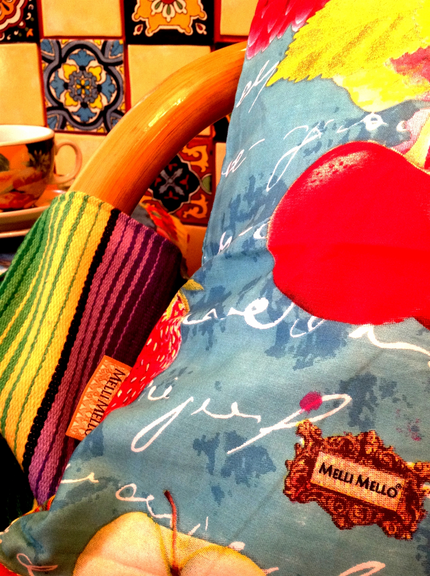 3 melli mello styl meksykanski wnetrze boho kolorowe kafelki meksykanskie plytki projektowanie wnetrz interior design mexican style santa fe home colorful tiles serape