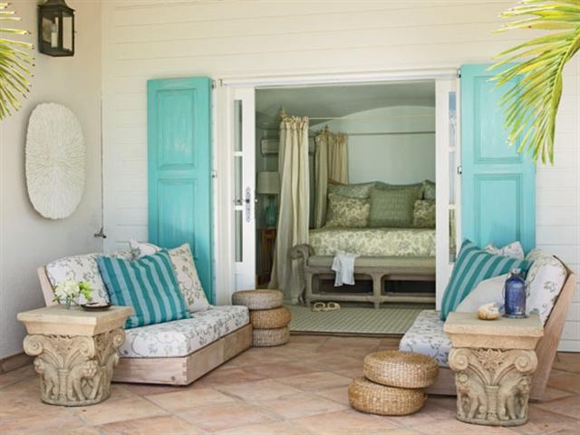 4 turquoise home ideas interior design colorful walls projektowanie wnetrz kolory w mieszkaniu niebieksie sciany alfresco porch decoration