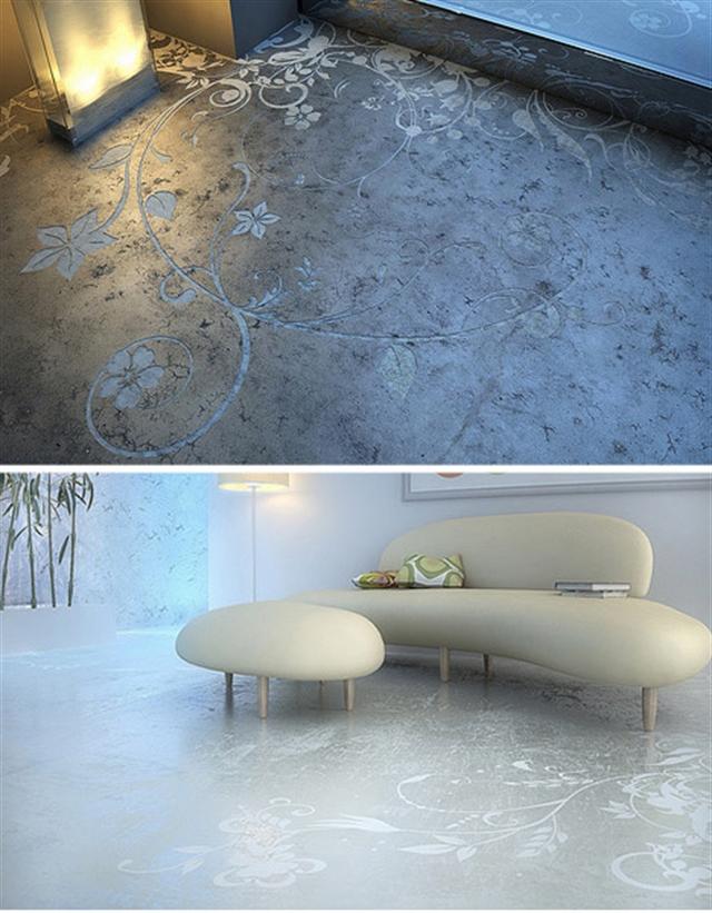 5 artistic concrete floor concrete tiles industrial interior design beton architektoniczny minimalizm betonowa podloga