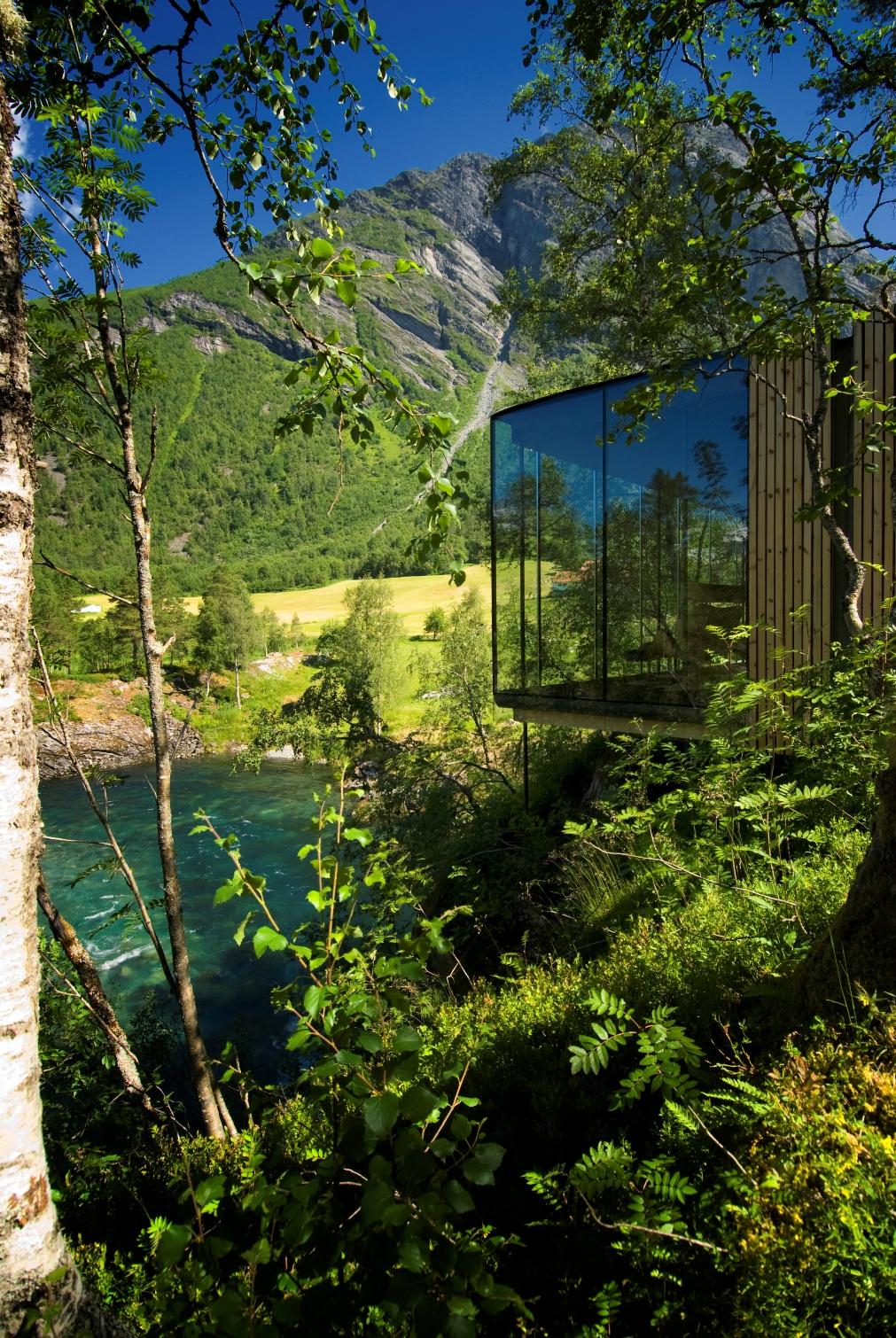 5 norway juvet landscape hotel norwegian architecture interior design niezwykle wnetrza styl skandynawski