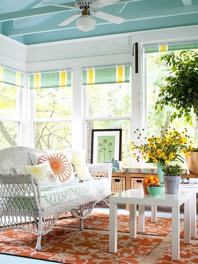 5 turquoise home ideas interior design colorful walls projektowanie wnetrz kolory w mieszkaniu niebieksie sciany alfresco porch decoration