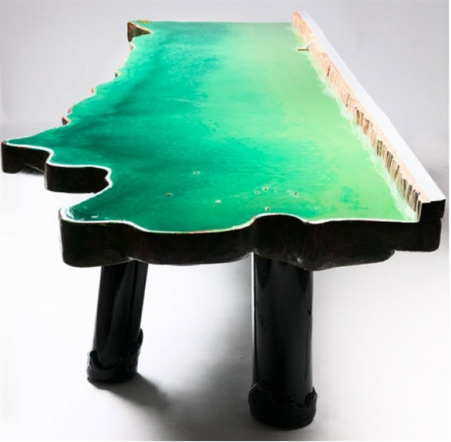 6 gaetano pesce lake table david gill galleries london italian furniture interior design home decor wloskie meble luksusowe projektowanie wnetrz