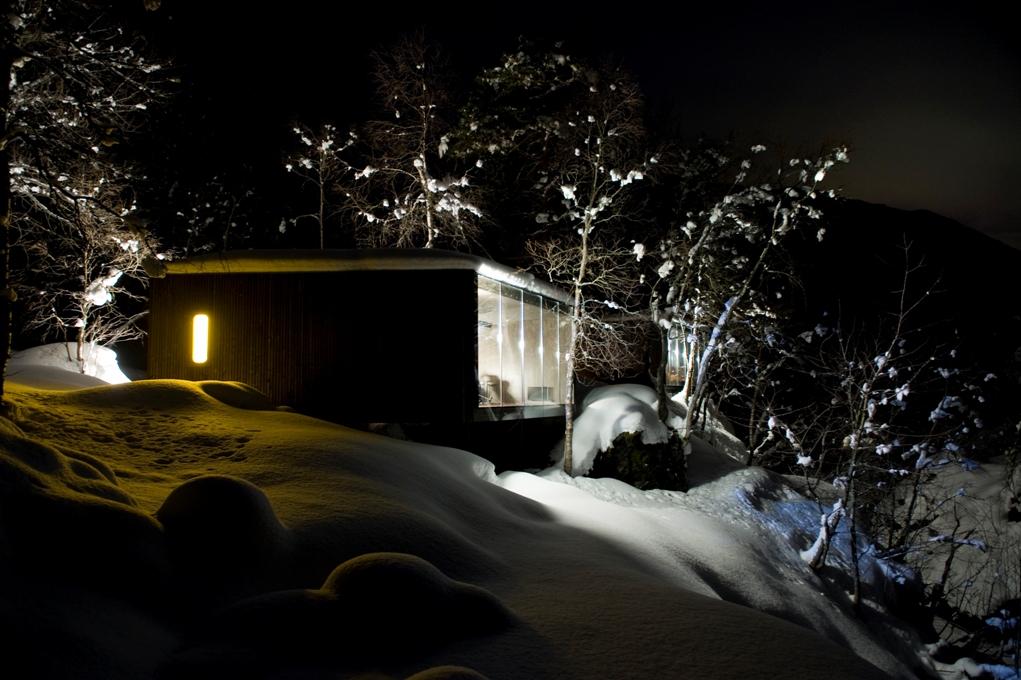 6 norway juvet landscape hotel norwegian architecture interior design niezwykle wnetrza styl skandynawski