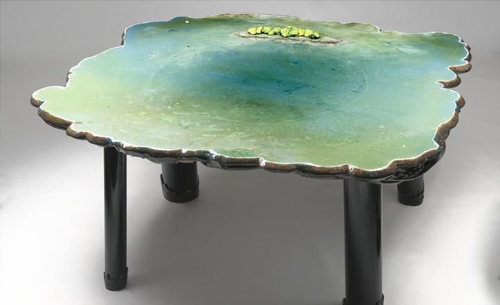 8 gaetano pesce pond table david gill galleries london italian furniture interior design home decor wloskie meble luksusowe projektowanie wnetrz