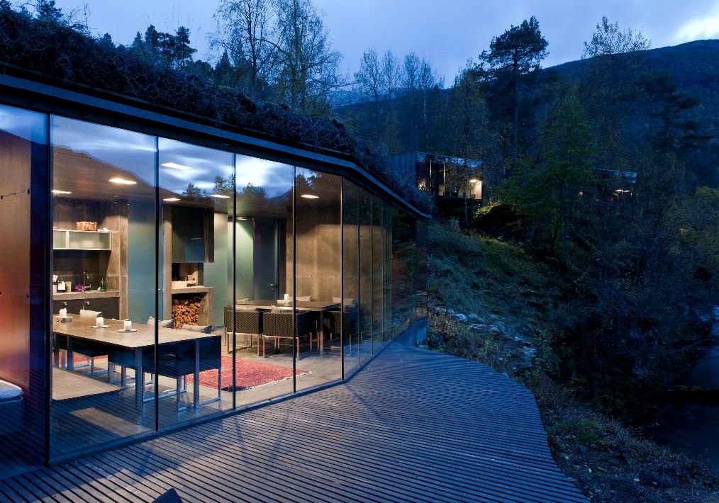 8 norway juvet landscape hotel norwegian architecture interior design niezwykle wnetrza styl skandynawski