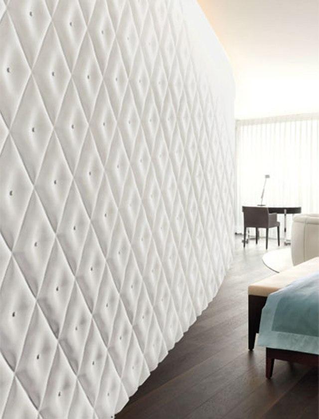 9 3dsurface capitonne tufted tiles wall panels luxurious home decor italian interior design wloskie plytki nietypowe kafelki luksusowe panele scienne