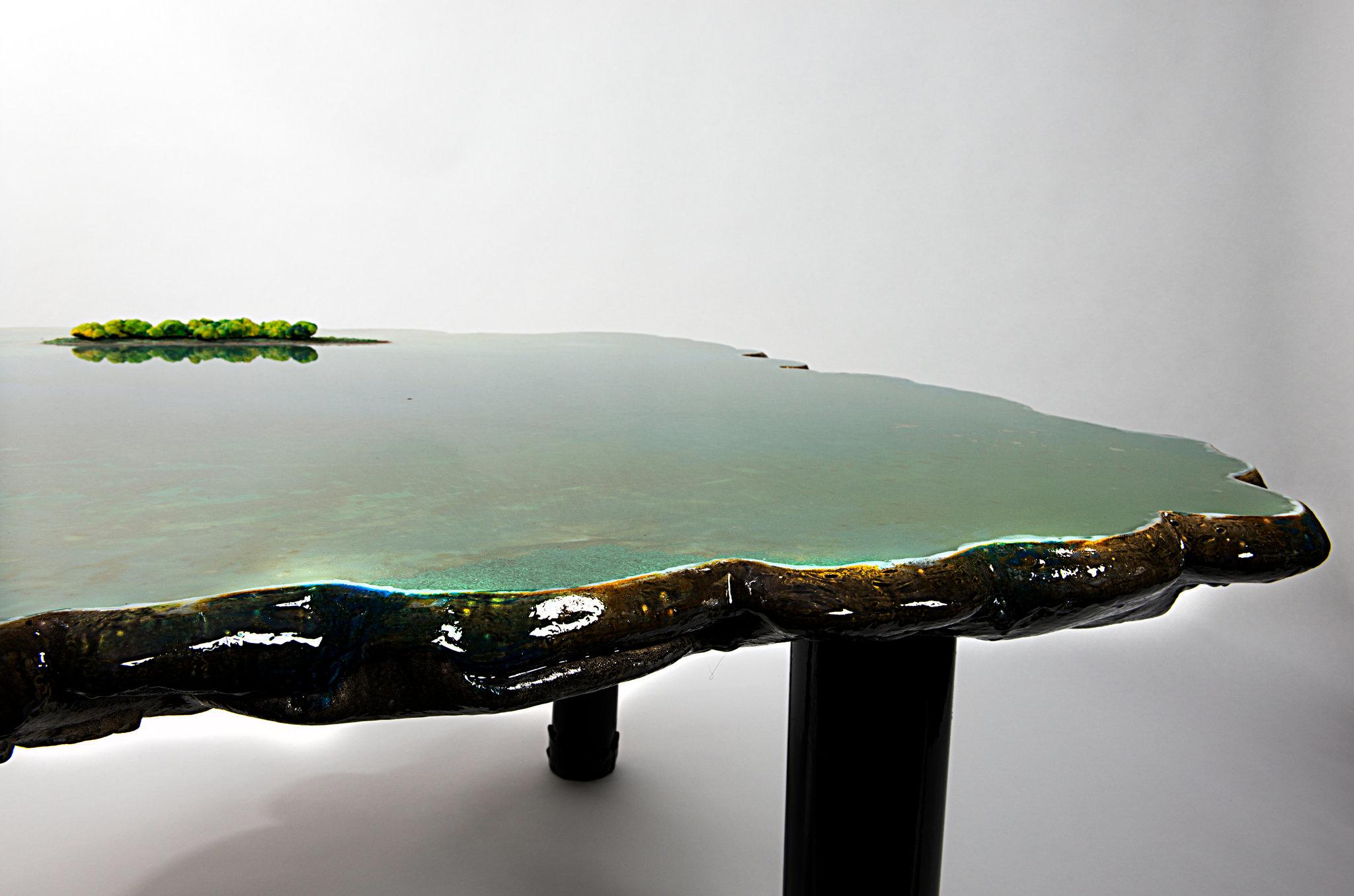 9 gaetano pesce pond table david gill galleries london italian furniture interior design home decor wloskie meble luksusowe projektowanie wnetrz sebastian piras nytimes