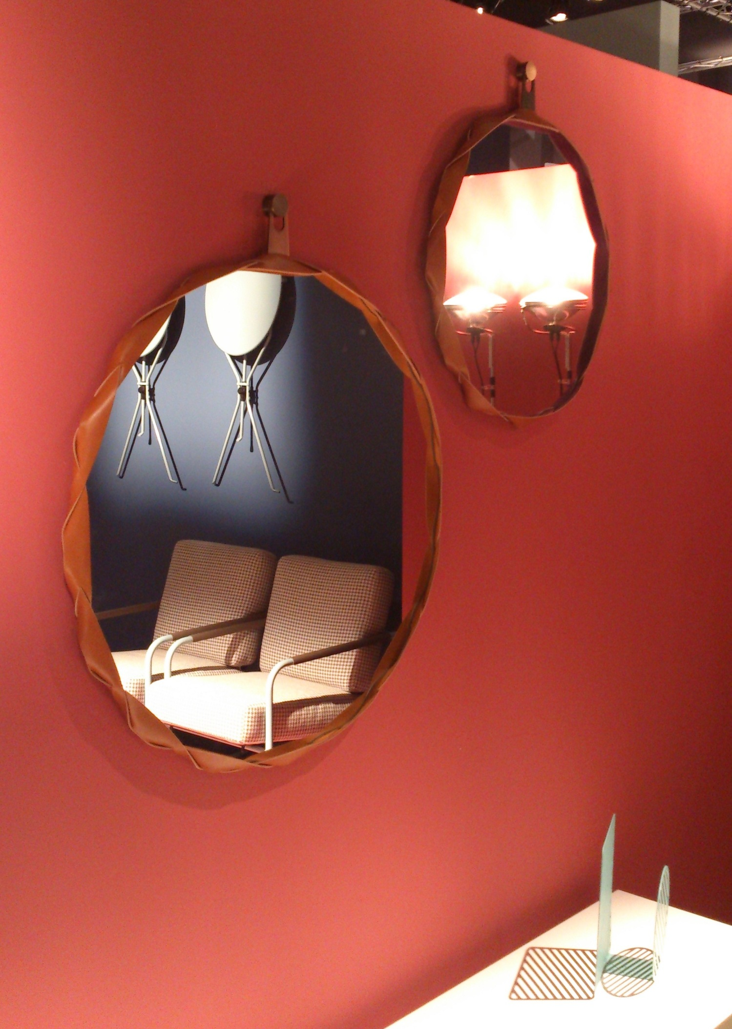 12 zanotta mirrors isaloni salone del mobile 2015 milan targi meblowe w mediolanie interior furniture light fixtures design tendencies trends review