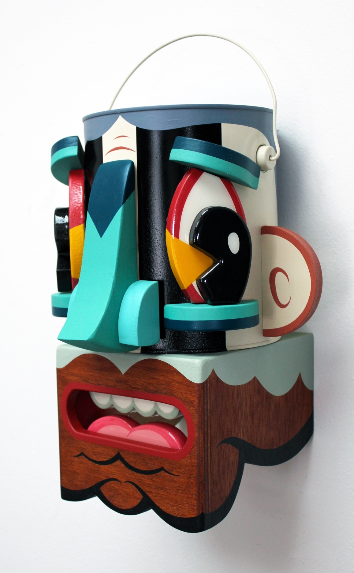 13 Alex Yanes popart tridimensional objects sculptures american art design sztuka amerykanska
