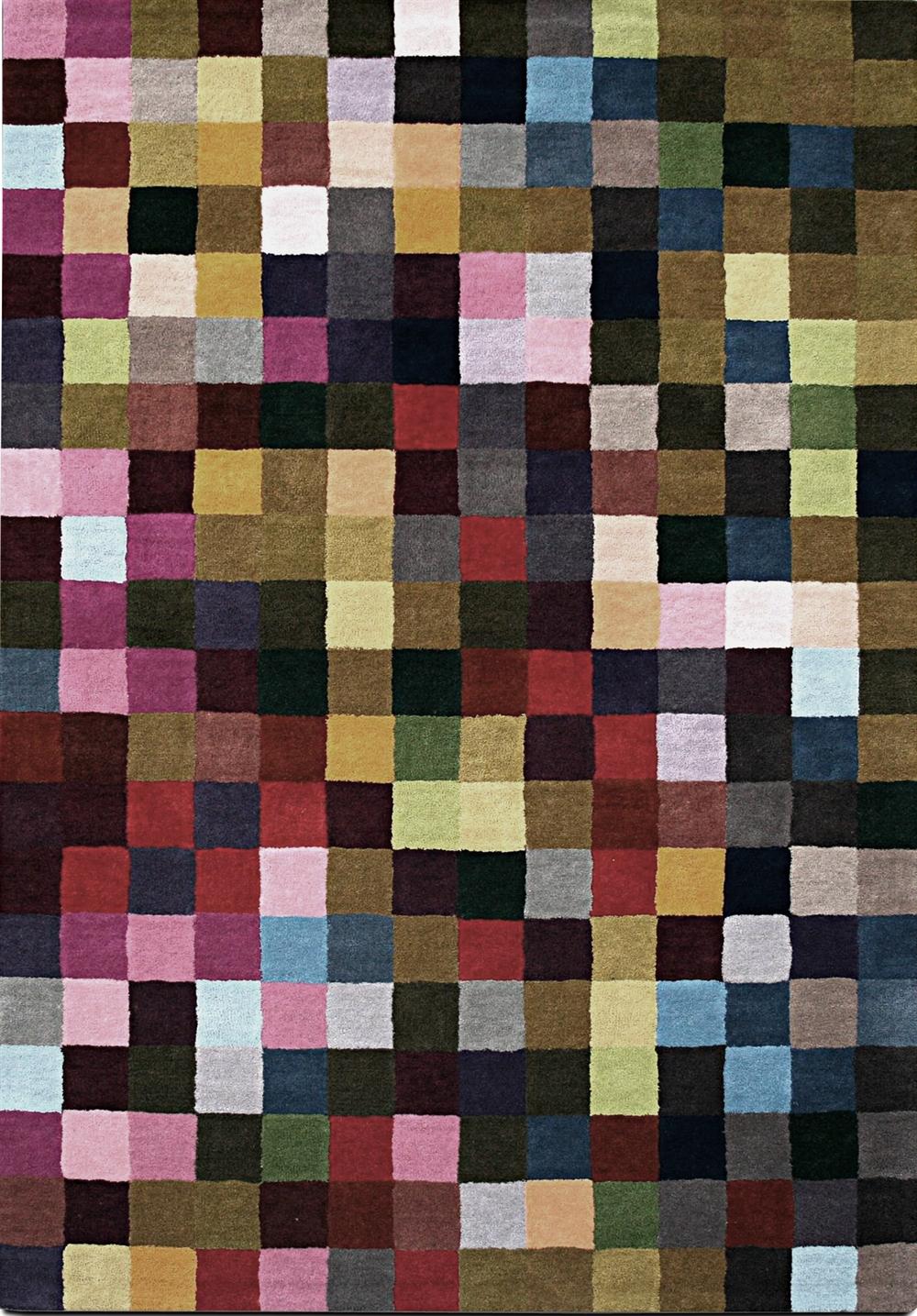 13 Pixel Rug boconcept pixel art pixelated pattern wzor w piksele interior design home decor ideas urzadzanie mieszkania projektowanie wnetrz kolory w domu
