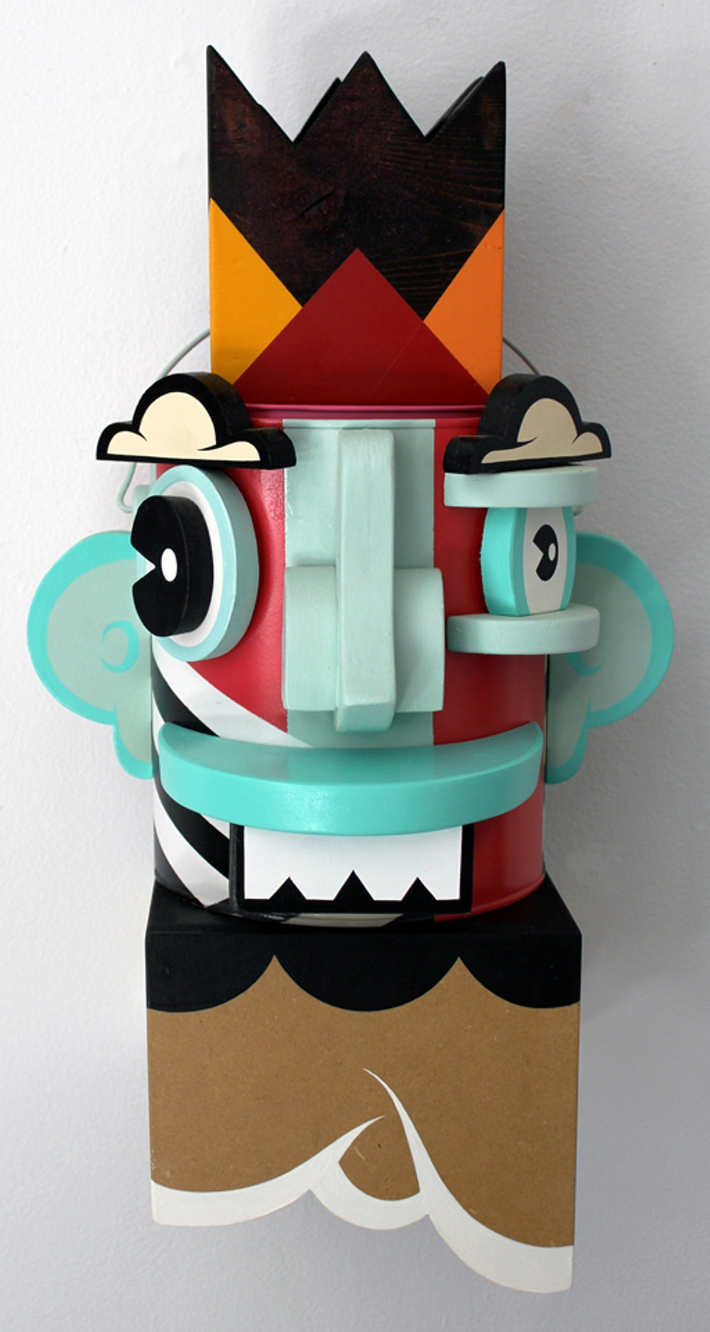 14 Alex Yanes popart tridimensional objects sculptures american art design sztuka amerykanska