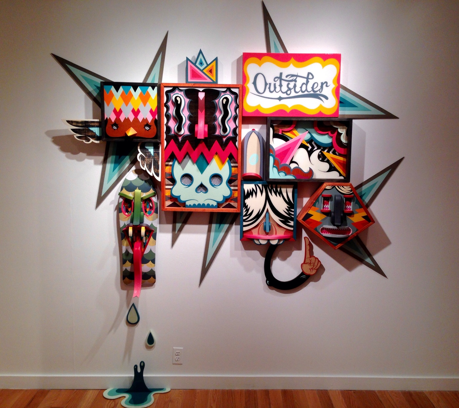 8 Alex Yanes popart tridimensional objects sculptures american art design sztuka amerykanska