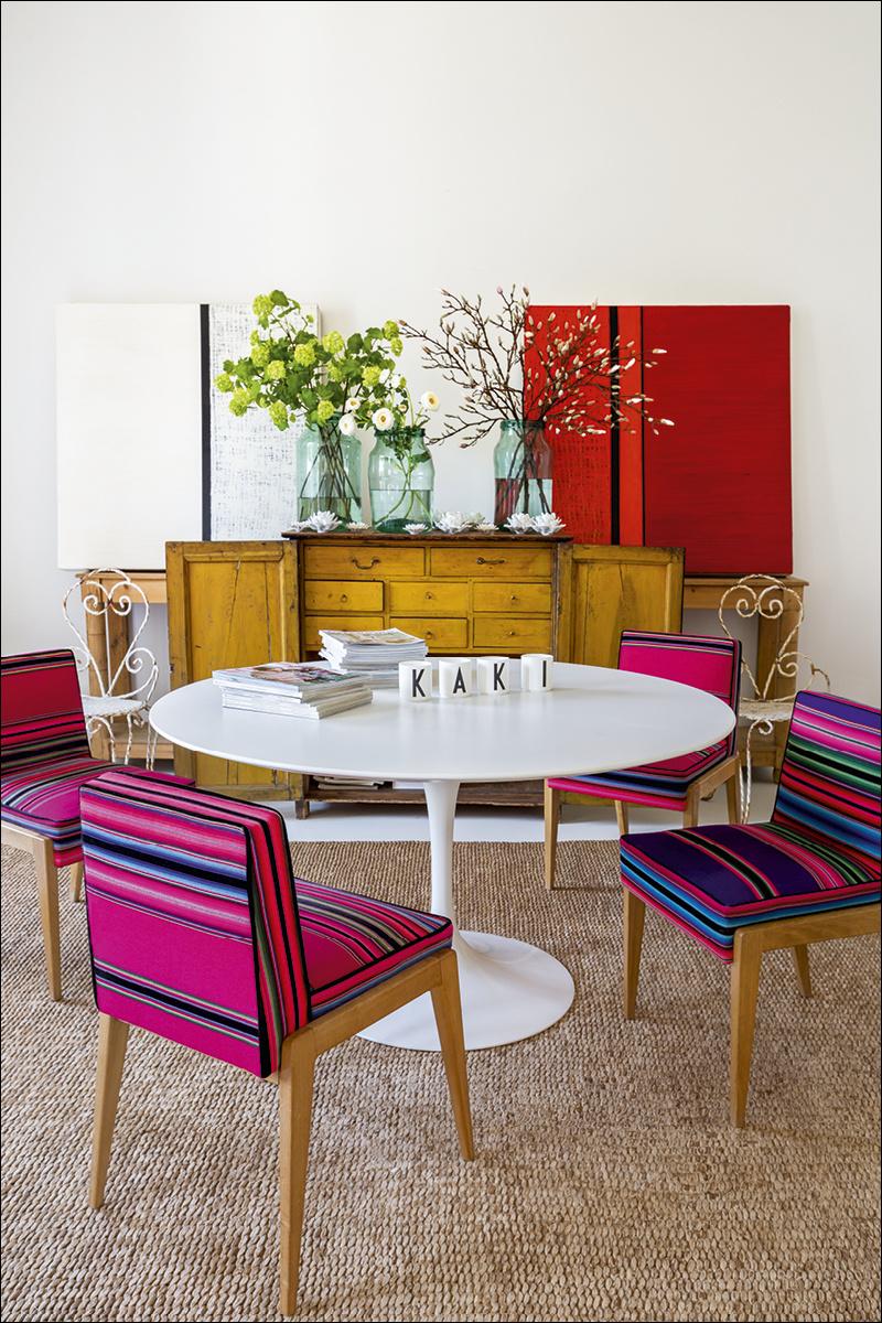 10 casa_de_luis_galliussi_en_madrid_ad spain interior design home decor ideas vintage boho style kolorowe mieszkanie styl vintage wnetrza