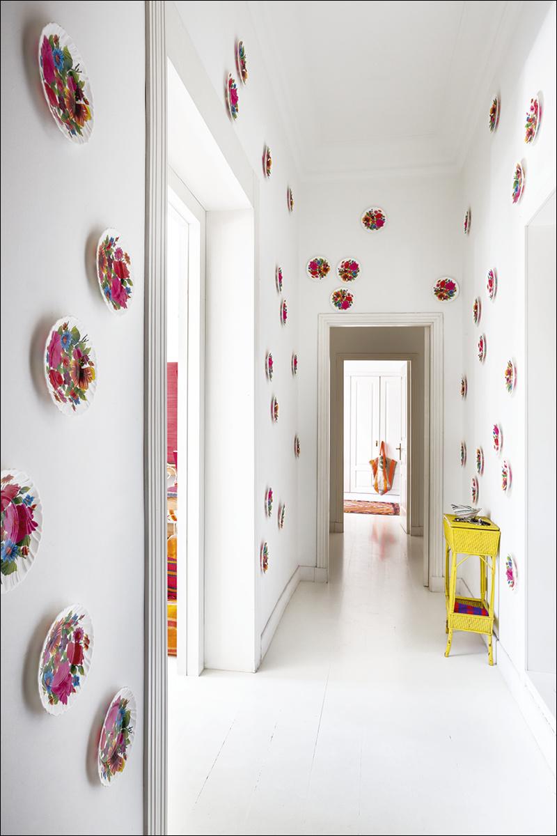 2 casa_de_luis_galliussi_en_madrid_ad spain interior design home decor ideas vintage boho style kolorowe mieszkanie styl vintage wnetrza