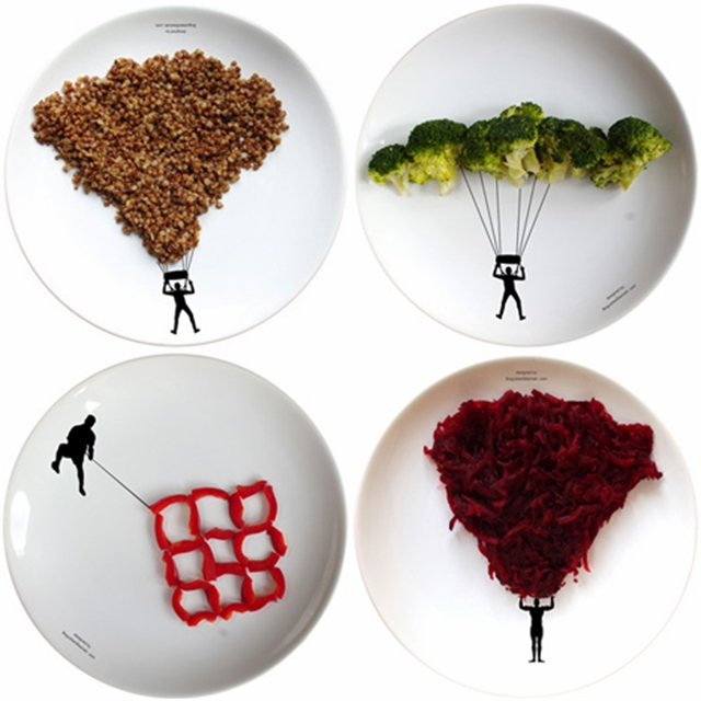 21 Dezeen-Boguslaw-Sliwinski-sport-plates food art design funny dinner home kids party ideas table decorating