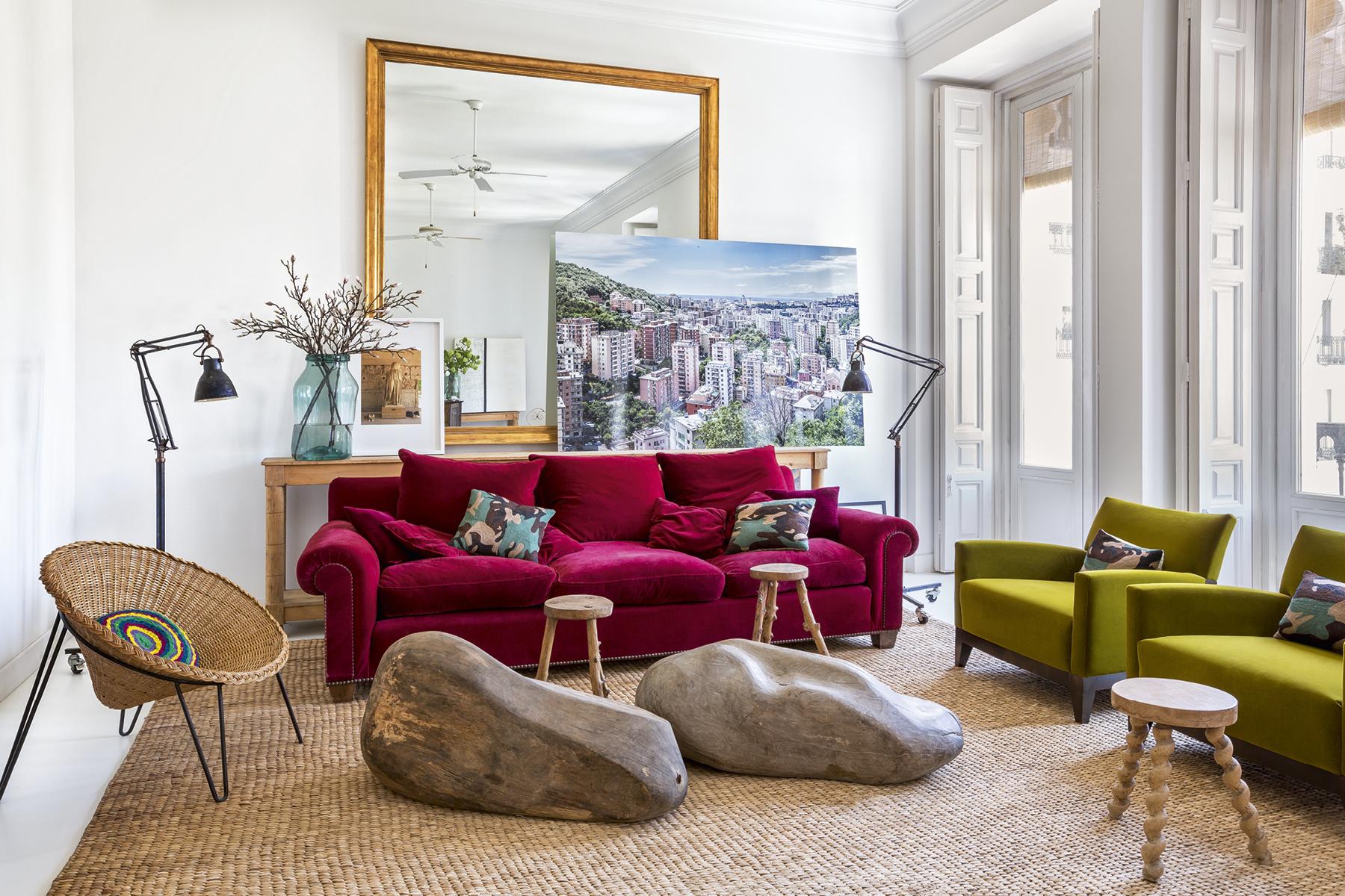 7 casa_de_luis_galliussi_en_madrid_ad spain interior design home decor ideas vintage boho style kolorowe mieszkanie styl vintage wnetrza