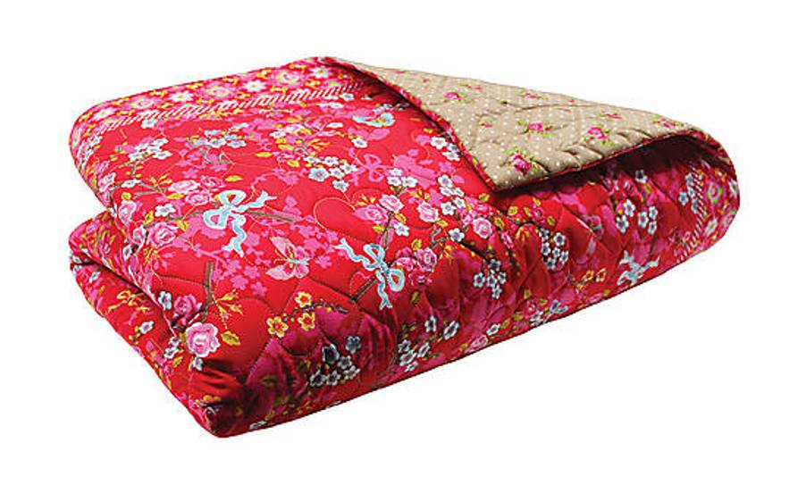 19 Narzuta Chinese Blossom V PIP Studio bed covering bedsheet bedroom interior design kolorowe wnetrza holenderski design westwing forelements blog