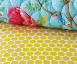 20 COVER Prześcieradło Big Dots I PIP Studio bed covering bedsheet bedroom interior design kolorowe wnetrza holenderski design westwing forelements blog