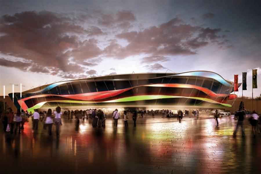 23 National Gymnastics Arena baku azerbaijan extreme architecture modern building innovative venues nowoczesna architektura odwazne projekty
