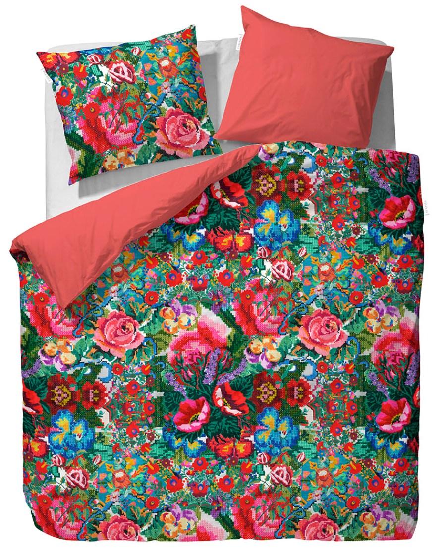 3 Pościel Kiki Essenza bedsheet bedroom interior design kolorowe wnetrza holenderski design PIP Studio westwing forelements blog