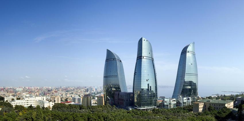 3 flame towers baku azerbaijan extreme architecture modern building innovative venues nowoczesna architektura odwazne projekty