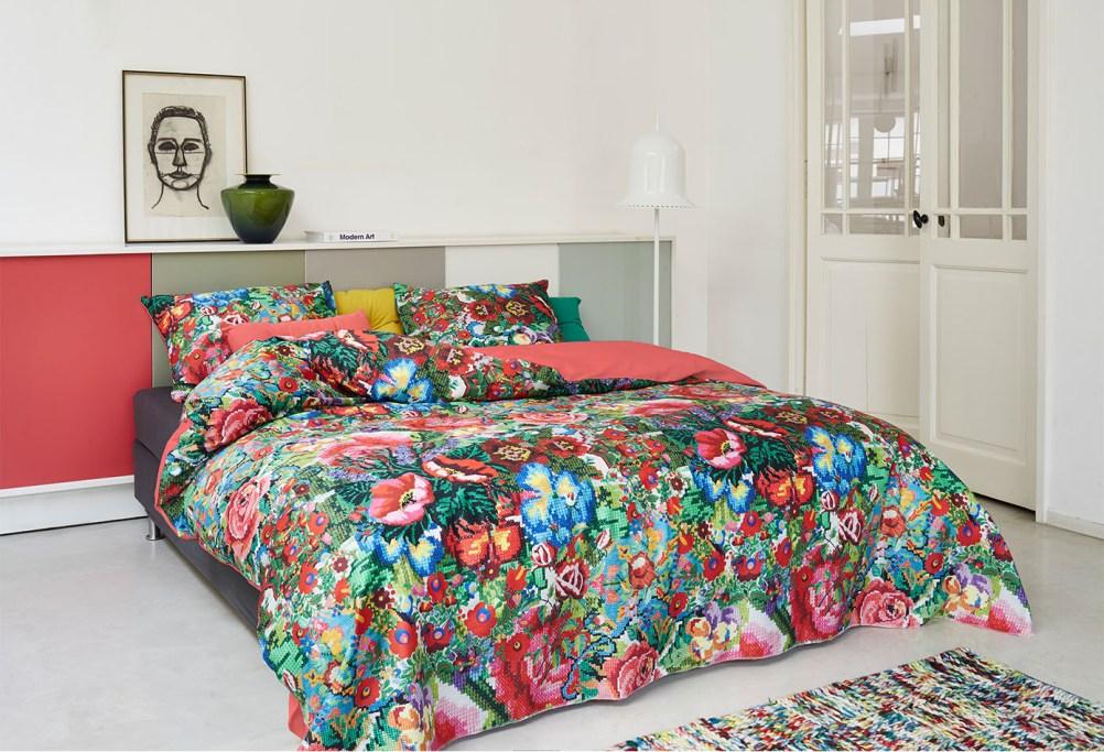 4 Pościel Kiki Essenza bedsheet bedroom interior design kolorowe wnetrza holenderski design PIP Studio westwing forelements blog