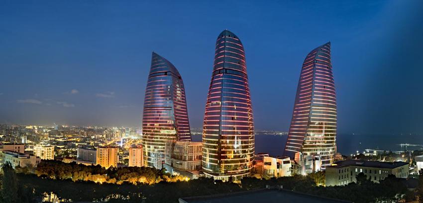 7 flame towers baku azerbaijan extreme architecture modern building innovative venues nowoczesna architektura odwazne projekty