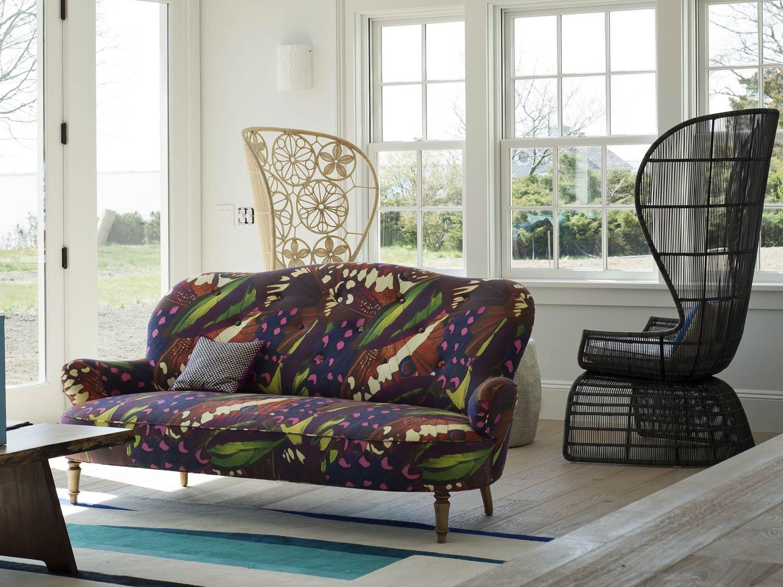 10 Bellport LivingRoom american interior designcolorful apartment home decorating ideas kolorowe wnetrza amerykanscy projektanci forelements blog