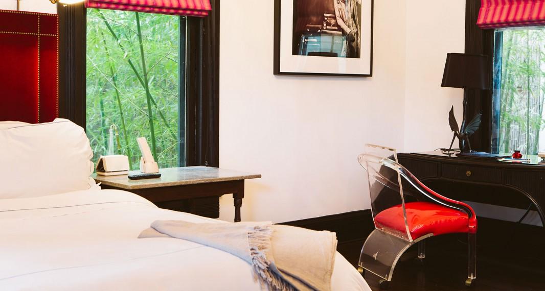 10 suite 1 Hotel Saint Cecilia Austin Texas interior design vintage apartment ciekawe wnetrza hotelowe styl amerykanski
