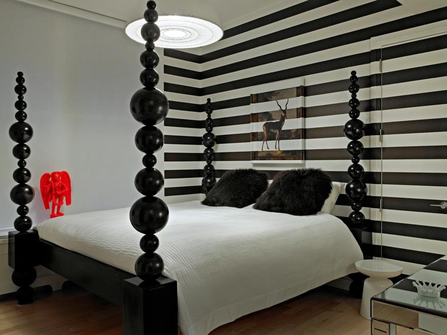 11 ghislaine vinas interior design modern apartment pop art style colorful home nowoczesne wnetrze kolory w pokoju