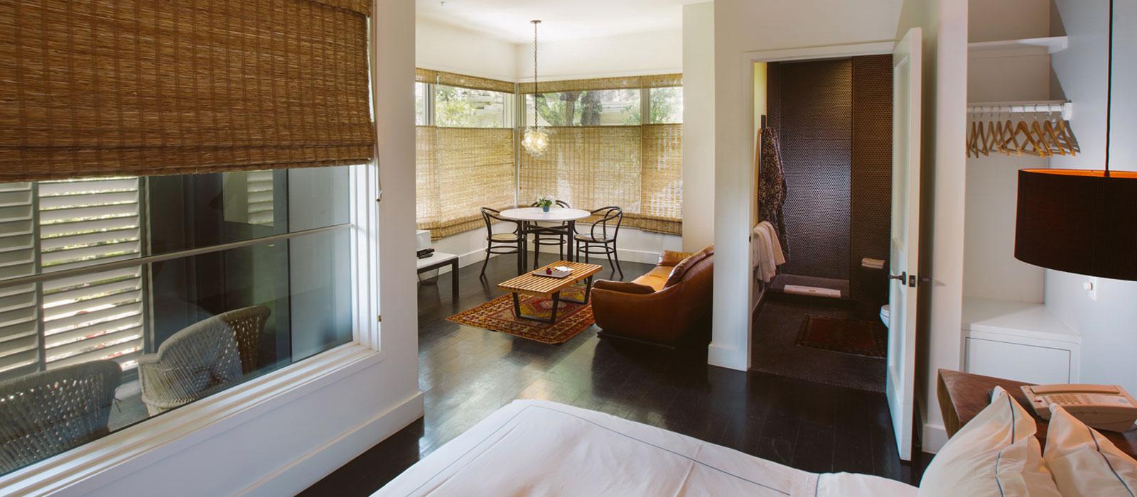11 studio Hotel Saint Cecilia Austin Texas interior design vintage apartment ciekawe wnetrza hotelowe styl amerykanski