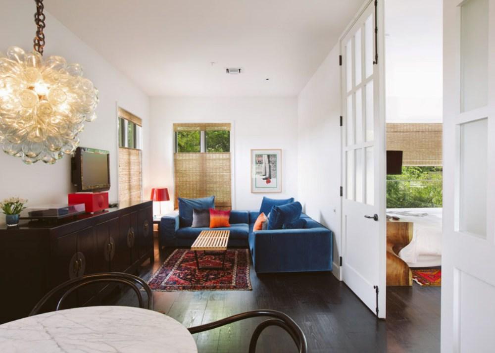 13 poolside bungalow suite Hotel Saint Cecilia Austin Texas interior design vintage apartment ciekawe wnetrza hotelowe styl amerykanski