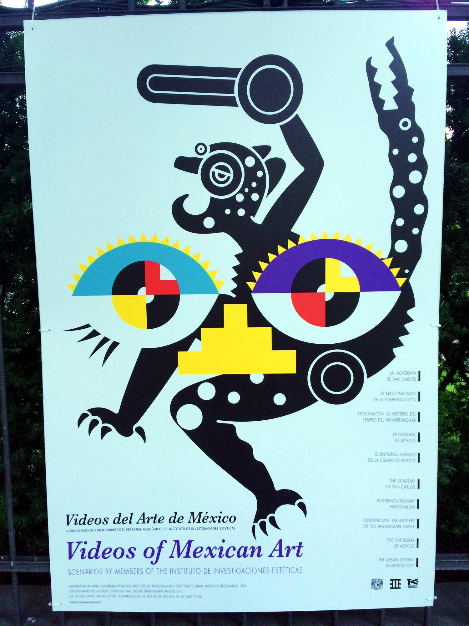 33 Mexican poster street art design plakat meksykanski projektowanie uzytkowe sztuka uliczna FORelementspl